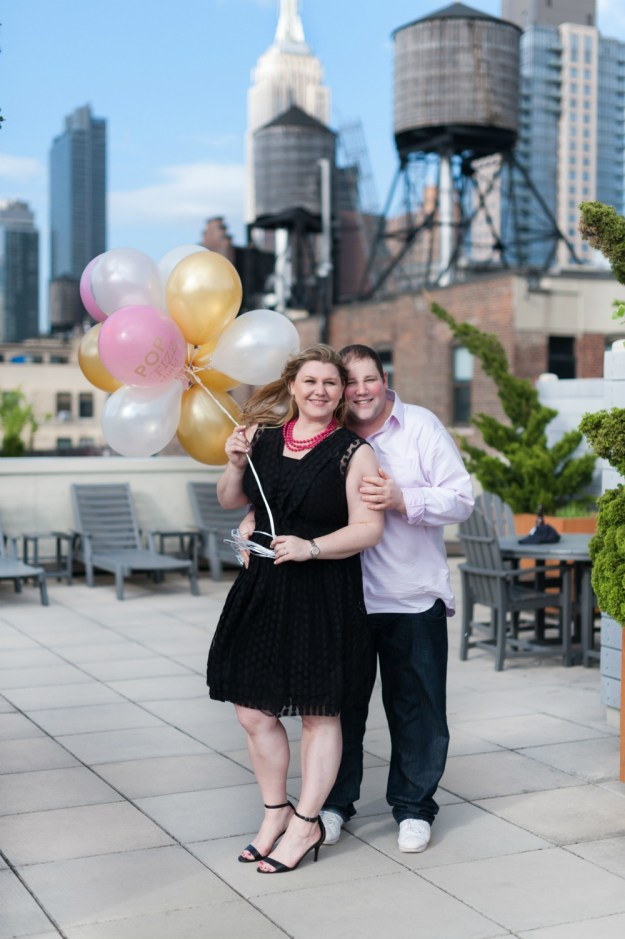 A Rooftop New York City Bridal Shower | Ultimate Bridesmaid | Jessica Frey Photography