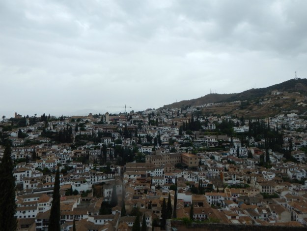 A view of Granada from the Alhambra. We spent two days in Granada as part of our 10-day honeymoon in Spain. Click to see our full Granada travel guide.