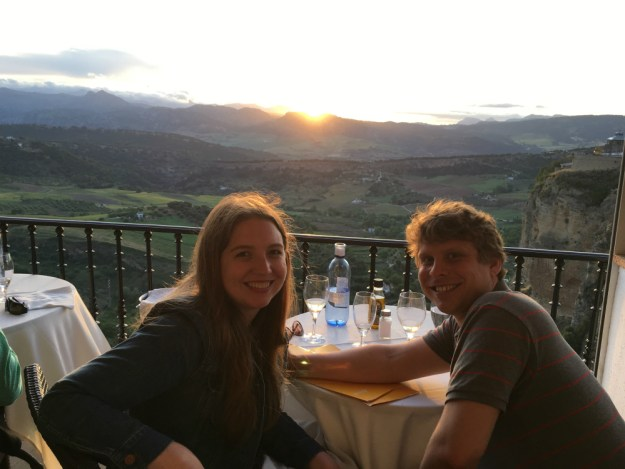 Dinner at Albacara, Ronda, Spain. We visited Ronda for two days as part of our 10-day honeymoon in Spain. Click to see our Ronda travel guide, including where to stay, what to do and where to eat!