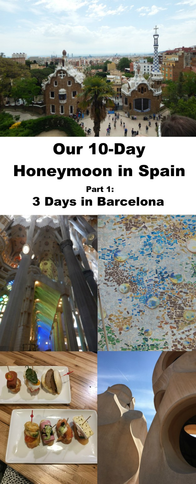 Travel guide for three days in Barcelona. This was the first stop on our 10-day honeymoon in Spain. Click for our full itinerary and recommendations!