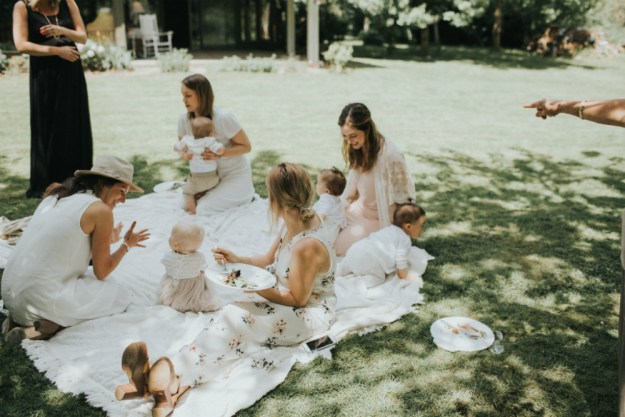 A Bohemian Bridal Shower in the Garden | Ultimate Bridesmaid | Alyssa Wilcox Photography