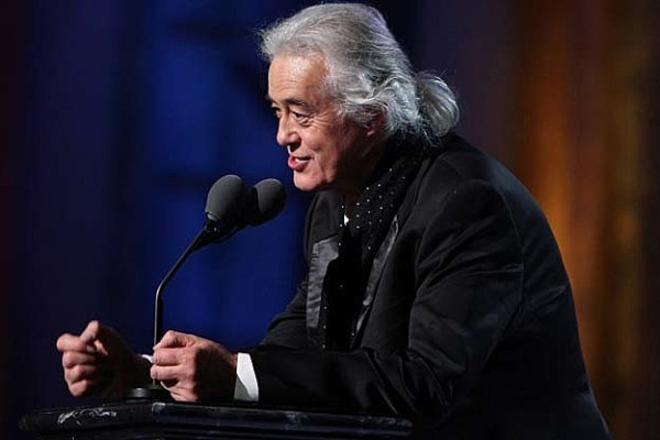 Jimmy Page Working on New Music