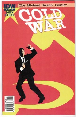Cold War #1 1:10 John Byrne Variant IDW 2011 VF/NM