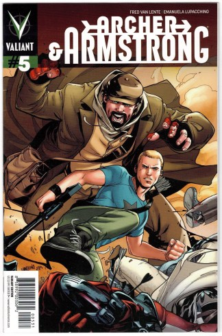 Archer and Armstrong #5 1:20 Lupacchino Interlocking Variant Valiant 2012 VF/NM