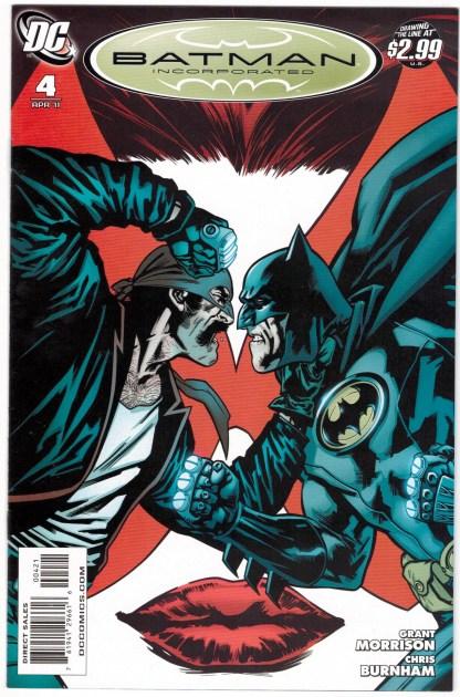 Batman Incorporated #4 1:25 Yanick Paquette Variant Grant Morrison DC 2010 VF/NM