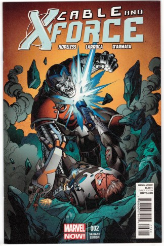 Cable and X-Force #2 1:50 Mark Bagley Variant Marvel Now 2012 VF/NM