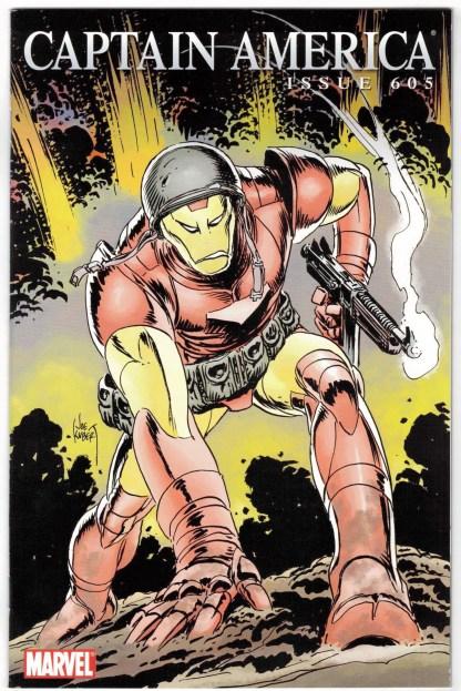 Captain America #605 1:15 Joe Kubert Iron Man Variant Marvel VF/NM