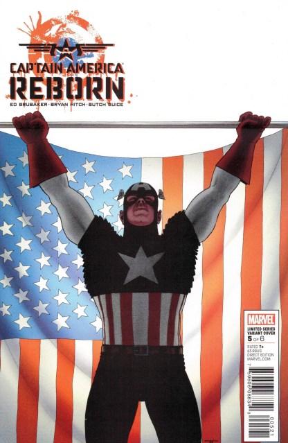 Captain America Reborn #5 John Cassaday Variant Marvel 2009