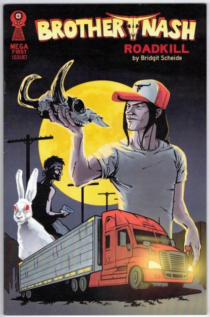 Brother Nash Roadkill Mega Issue #1 Lost Story Studios Oversized 2012 VF/NM