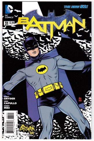 Batman #31 1:25 Mike Allred Batman 66 Variant Snyder DC New 52 2011 VF/NM