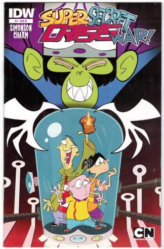 Cartoon Network Super Secret Crisis War #4 1:10 Schoening Variant 2014 VF/NM