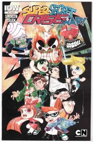 Cartoon Network Super Secret Crisis War #6 1:10 Nguyen Variant 2014 VF/NM