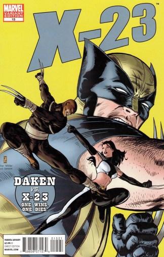 X-23 #15 1:50 Zircher 50th Anniversary Daredevil #181 Homage Variant Wolverine