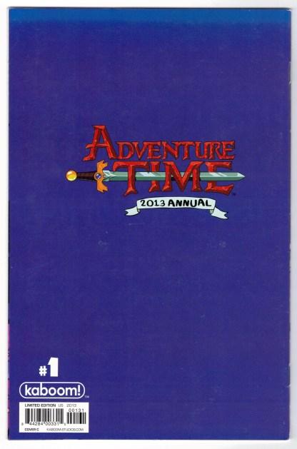 Adventure Time 2013 Annual #1 1:25 Derek Fridolfs Cover C Virgin Variant VF/NM