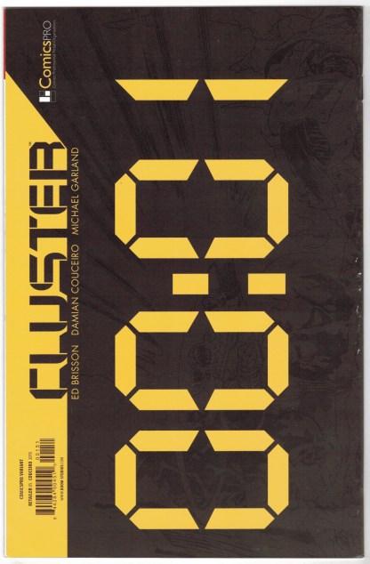 Cluster #1 Comicspro Exclusive Variant Boom Studios 2015 VF/NM