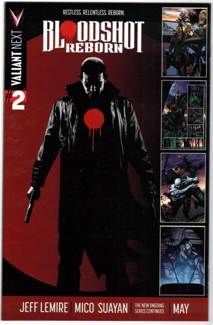 Bloodshot Reborn #1 1:60 Butch Guice Variant Valiant 2015 VF/NM