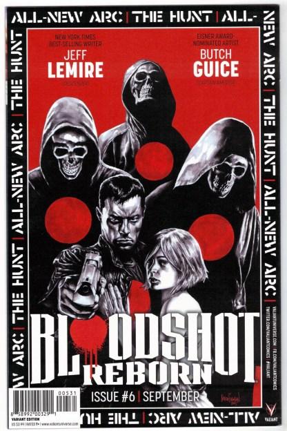 Bloodshot Reborn #5 Jay Fabares QR Voice Variant Valiant 2015 VF/NM