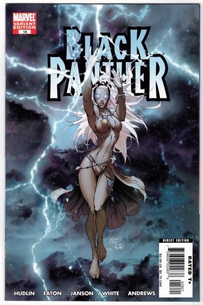 Black Panther #18 1:10 Michael Turner Storm Variant Marvel 2005 VF/NM