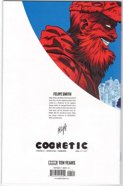 Cognetic #1 1:10 Felipe Smith Boom 10th Anniversary Variant 2015 VF/NM