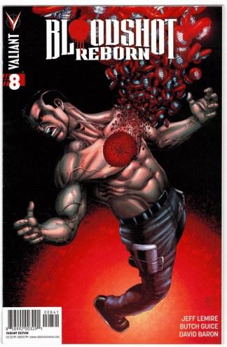 Bloodshot Reborn #8 1:10 Robert Gill Variant Valiant 2015 VF/NM