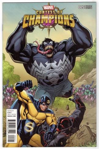 Contest of Champions #5 Ron Lim Connecting Variant Marvel 2015 Venom VF/NM