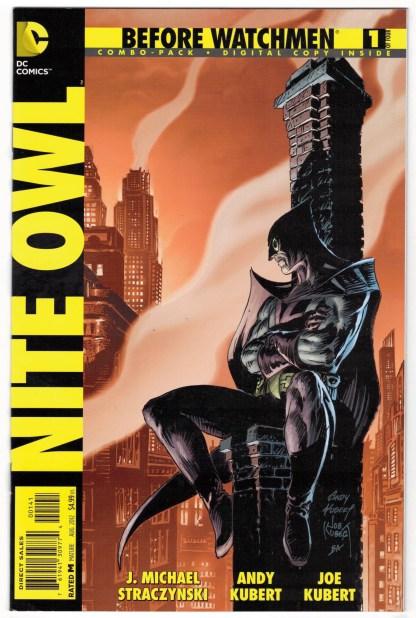 Before Watchmen Nite Owl #1 Digital Combo Pack UNBAGGED DC 2012 VF/NM