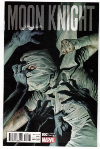 Moon Knight #2 1:25 Tedesco Variant Marvel ANAD 2016 Jeff Lemire NM-