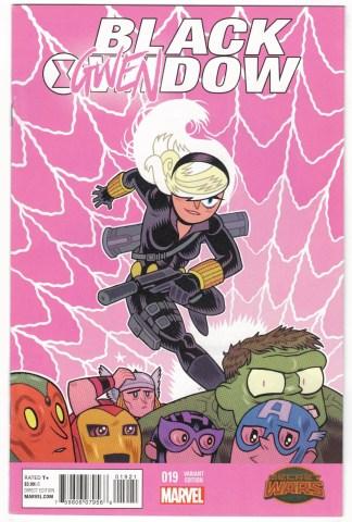 Black Widow #19 Gwen Variant Gwendow Marvel 2014 Secret Wars VF/NM
