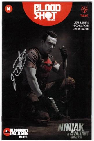 Bloodshot Reborn #14 Movie Variant Signed by Jason David Frank NO COA VF/NM