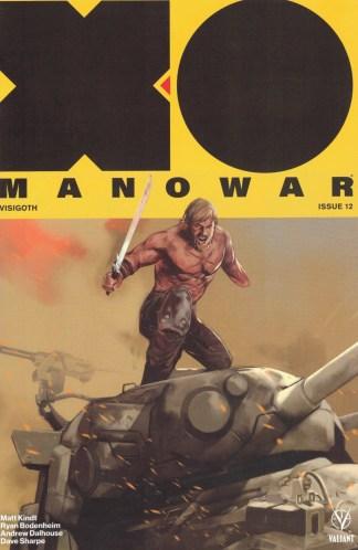 X-O Manowar #12 1:50 Ben Oliver Variant Valiant 2017 Matt Kindt