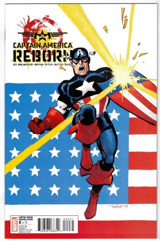 Captain America Reborn #2 1:25 Tim Sale Variant Marvel 2009 VF/NM