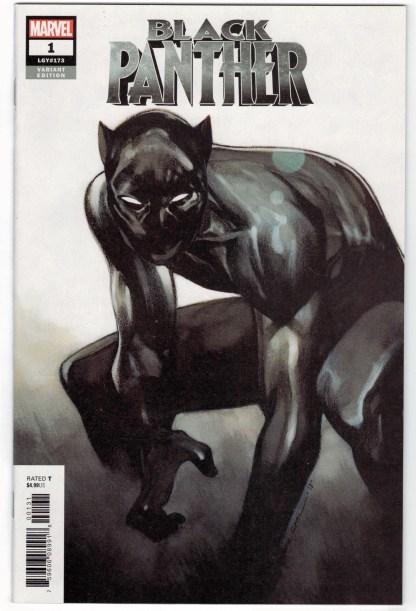 Black Panther #1 1:50 Olivier Coipel Variant Marvel 2018 Coates VF/NM