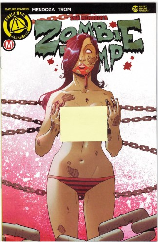 Zombie Tramp #26 Risque Variant Cover F Action Lab Danger Zone 2014 VF/NM