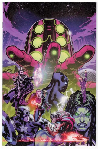 Avengers #2 1:100 Ed McGuinness Virgin Variant Marvel 2018 VF/NM