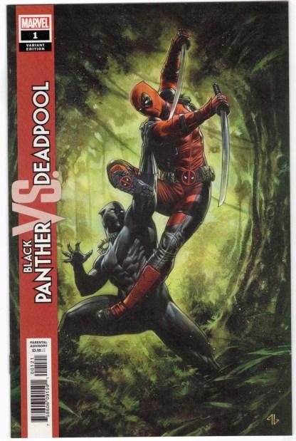 Black Panther vs Deadpool #1 1:50 Adi Granov Variant Marvel 2018 VF/NM