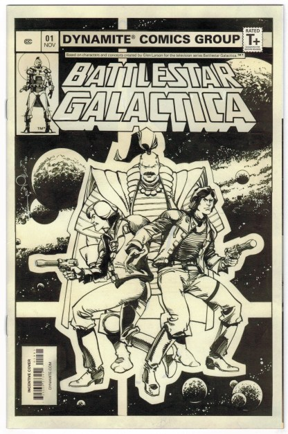 Battlestar Galactica Classic #1 1:10 Walt Simonson Sketch Variant 2018 VF/NM