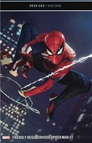 Friendly Neighborhood Spider-Man #1 1:10 Video Game Variant Marvel 2019