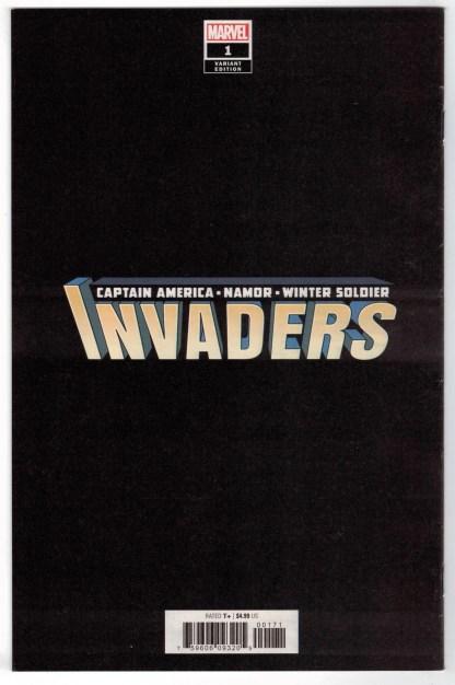 Invaders #1 1:300 Joe Quesada Virgin Variant Marvel 2019 Namor VF/NM
