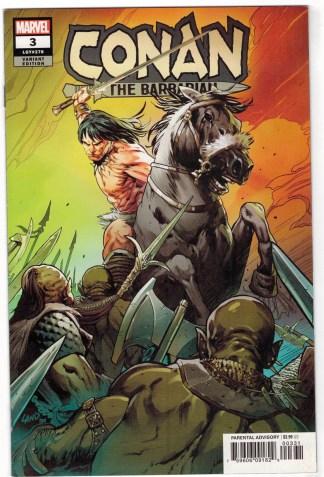 Conan the Barbarian #3 1:25 Greg Land Variant Marvel 2019 VF/NM