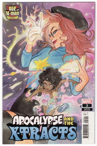 Age of X-Man Apocalypse and X-Tracts #2 1:25 Momoko Variant Marvel 2019 VF/NM