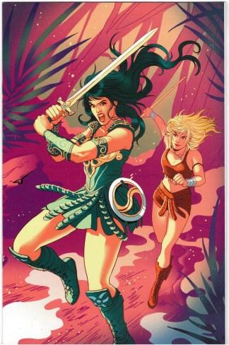 Xena Warrior Princess #1 1:40 Ganucheau Virgin Variant Dynamite 2019 VF/NM