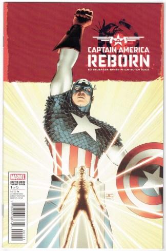 Captain America Reborn #1 1:25 John Cassaday Variant Marvel 2019 Brubaker VF/NM