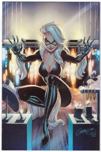 Black Cat #1 1:500 J Scott Campbell Virgin Variant 2019 Spider-Man VF/NM