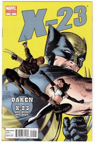 X-23 #15 1:50 Zircher 50th Anniversary Daredevil #181 Homage Variant VF/NM