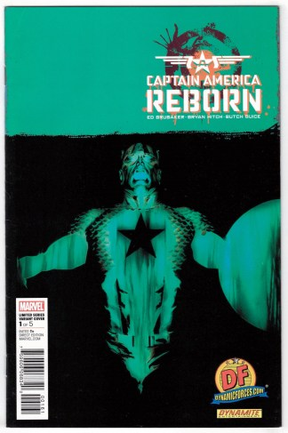 Captain America Reborn #1 Hitch Dynamic Forces Variant Marvel 2009 w/ CoA VF/NM