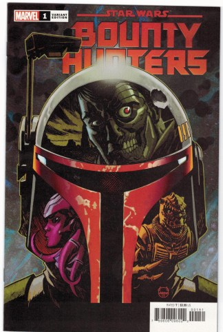 Star Wars Bounty Hunters #1 1:50 Dave Johnson Variant Marvel 2020 AS-IS See Pics