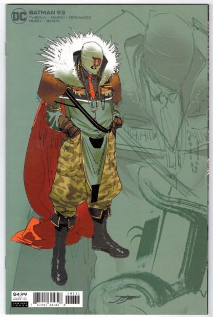 Batman #93 1:25 Jorge Jiminez Designer Variant DC Joker War VF/NM