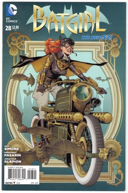 Batgirl #28 1:25 JG Jones Steampunk Variant DC 2011 VF/NM