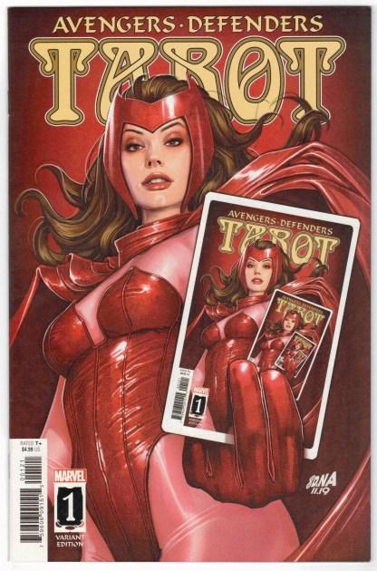 Tarot #1 1:50 David Nakayama Scarlet Witch Variant 2020 Avengers Defenders VF/NM