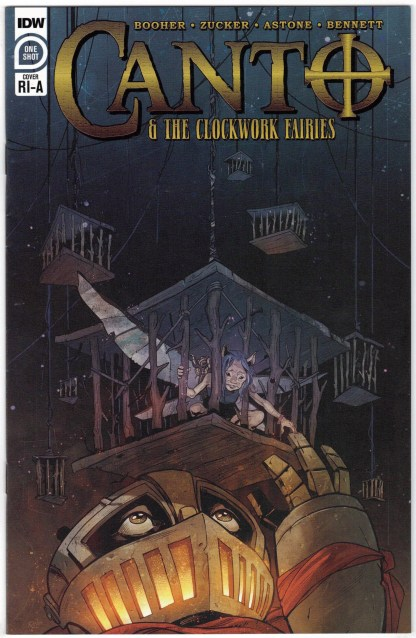 Canto & the Clockwork Fairies #1 1:10 Nick Robles RI-A Variant IDW 2020 VF/NM